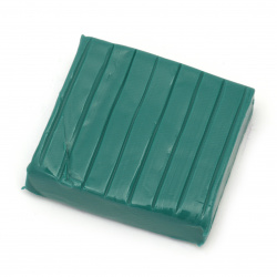 Soft Polymer Clay Dark Green, 50g