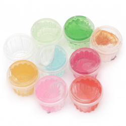 Самосъхнещо прозрачно желе цвят Асорте ~30 грама