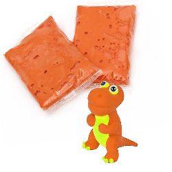 Αυτοξηρούμενος πηλός πορτοκαλί -14 ± 15 γραμμάρια