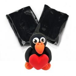 Самосъхнещ моделин цвят черен -14~15 грама