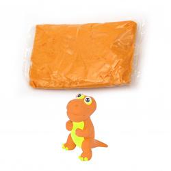 Самосъхнещ моделин цвят оранжев светло -14~15 грама