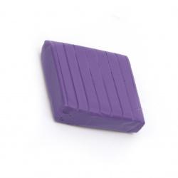 Полимерна глина неон лилава -50 грама