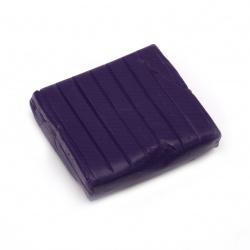 Полимерна глина лилава циклама -50 грама
