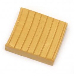 Полимерна глина цвят горчица  -50 грама