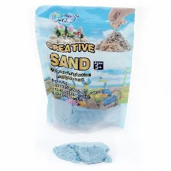 Creative Colorful Sand for Craft & Decoration blue - 500 grams