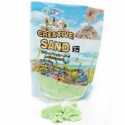 Creative Colorful Sand for Craft & Decoration green - 500 grams