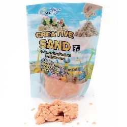 Creative Colorful Sand for Craft & Decoration orange - 500 grams
