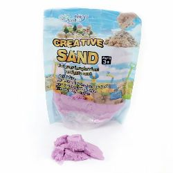 Creative Colorful Sand for Craft & Decoration purple color - 500 grams