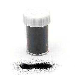 Embossing Powder, Black Color, 1 Jar 10~11 grams