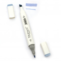 Double-headed color marker with alcohol ink for drawing and design 76 - 1pc.