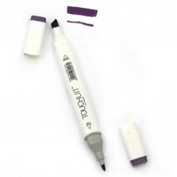 Double-headed color marker with alcohol ink for drawing and design 81 - 1pc.