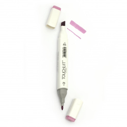 Double-headed color marker with alcohol ink for drawing and design 84 - 1pc.