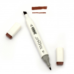 Double-headed color marker with alcohol ink for drawing and design 89 - 1pc.