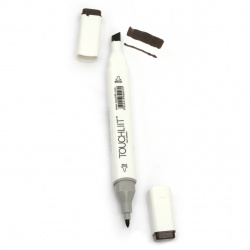 Double-headed color marker with alcohol ink for drawing and design 98 - 1pc.
