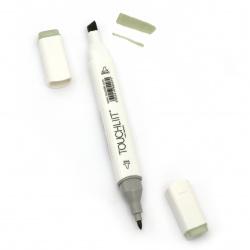 Marcator dublu cu cerneală alcoolică pentru pictat și design 232 -1 bucată
