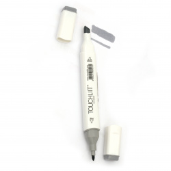 Double-headed color marker with alcohol ink for drawing and design CG4 - 1pc.