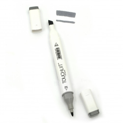 Double-headed color marker with alcohol ink for drawing and design CG5 - 1pc.