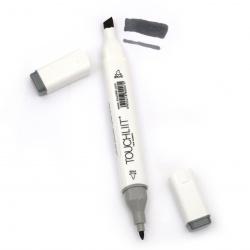 Marcator dublu superior cu cerneală alcoolică pentru vopsire și design CG6 -1 piesă