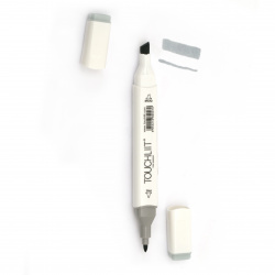 Double-headed color marker with alcohol ink for drawing and design CG3 - 1pc.