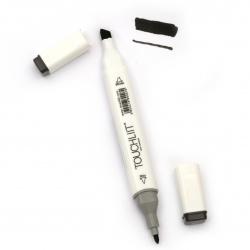 Marcator de culoare cu două capete cu cerneală alcoolică pentru desen și proiectare WG9 - 1 buc.