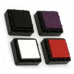 Set de tampoane cu cerneală pigmentată FOLIA -4 culori