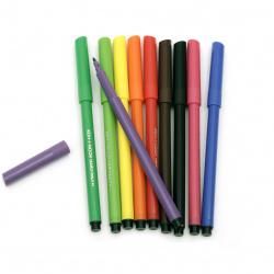 Felt Tip Pens KOH-I-NOOR MIX - 10 pieces