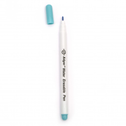 Marker for delineation color blue