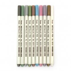 Metallic marker -10 pieces