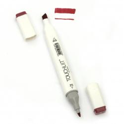 Двувърх маркер с алкохолно мастило за рисуване и дизайн 02 -1 брой