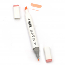 Double-headed color marker with alcohol ink for drawing and design 18 - 1pc.