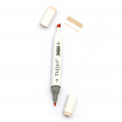 Double-headed color marker with alcohol ink for drawing and design 25 - 1pc.