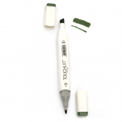 Double-headed color marker with alcohol ink for drawing and design 43 - 1pc.