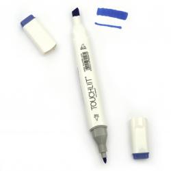 Двувърх маркер с алкохолно мастило за рисуване и дизайн 74 -1 брой