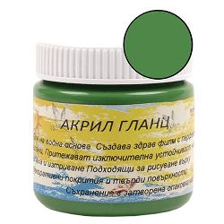Acrylic Paint Glaze Green, 75 ml