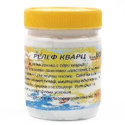 Decoupage paste for quartz relief white 400 grams