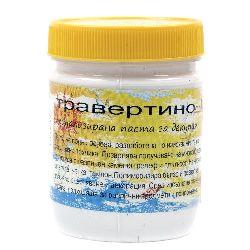 Декупажна паста за релеф бяла 400 грама - Травертино