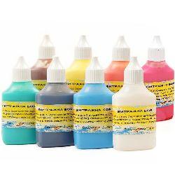 Vitralii pe bază de apă 50 de grame  culori asortate