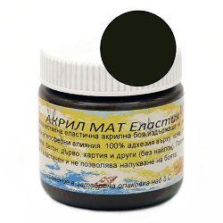 Vopsea acrilică ELASTIC 75 ml - negru