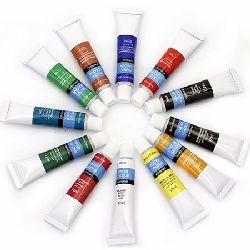Set de vopsele acuarelă 12 culori x 12 ml