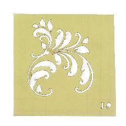 Șablon refolosibil LORCA dimensiune de imprimare 5.2x6.2 cm L9