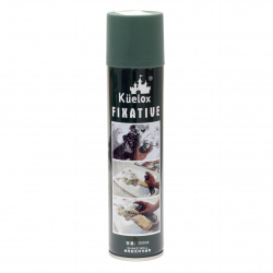 Spray retainer for pencils, pastels, graphite 300 ml.