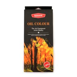 Комплект маслени бои профи серия 12 цвята 12 мл.