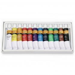 Комплект гваш / gouache бои 12 цвята x 12 мл
