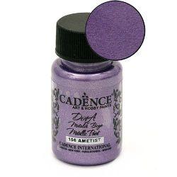 CADENCE DORA Ακρυλικό μεταλλικό χρώμα 50 ml. - AMETHYST 156