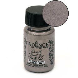 Acrylic Paint Metallic Effect Pinky Brown, Cadence Dora 50 ml