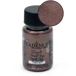 CADENCE DORA Ακρυλικό μεταλλικό χρώμα 50 ml. - CHESTNUT 168