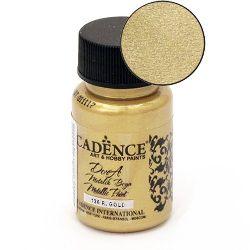 Акрилна боя металик CADENCE DORA 50 мл. - RICH GOLD 136