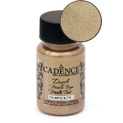 Acrylic Paint Metallic Effect CADENCE DORA 50 ml. - ANTIQUE GOLD 150