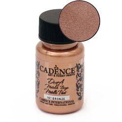 Acrylic Paint Metallic Effect  CADENCE DORA 50 ml. - BRONZE167