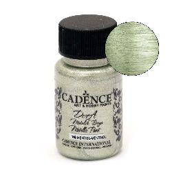 Acrylic Paint Metallic Effect CADENCE DORA 50 ml. - MENTHOL 146